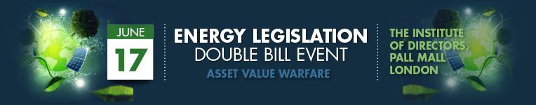 Energy Legislation Double Bill Event – 17 June 2015