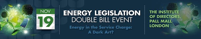 Energy Legislation Double Bill – 19th November 2015